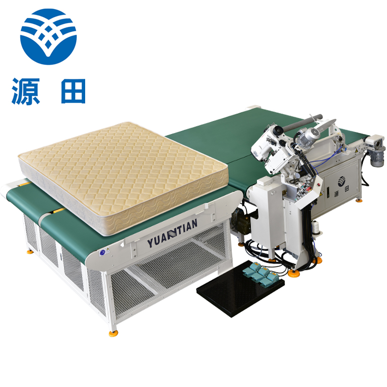Double Sewing Heads Flanging Machine ds8a Mattress Flanging Machine YUANTIAN Mattress Machines