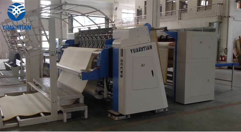 singleneedle heads highspeed quilting machine for mattress price YUANTIAN Mattress Machines