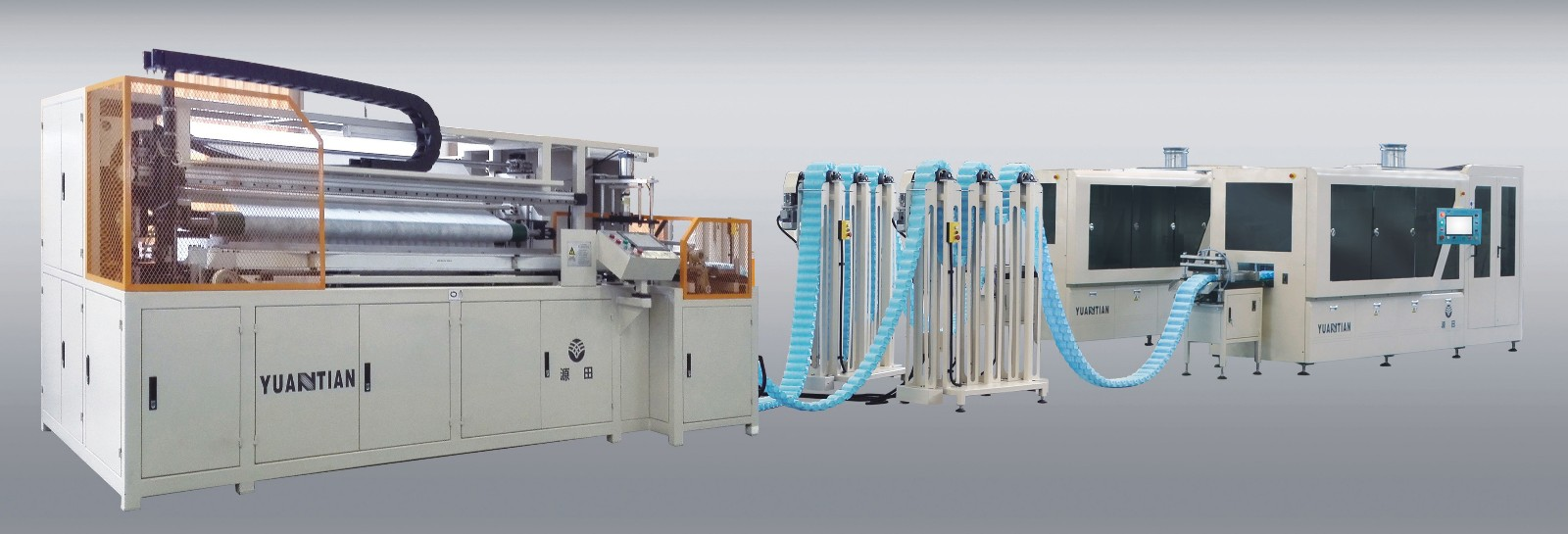 spring Automatic High Speed Pocket Spring Machine assembling production YUANTIAN Mattress Machines