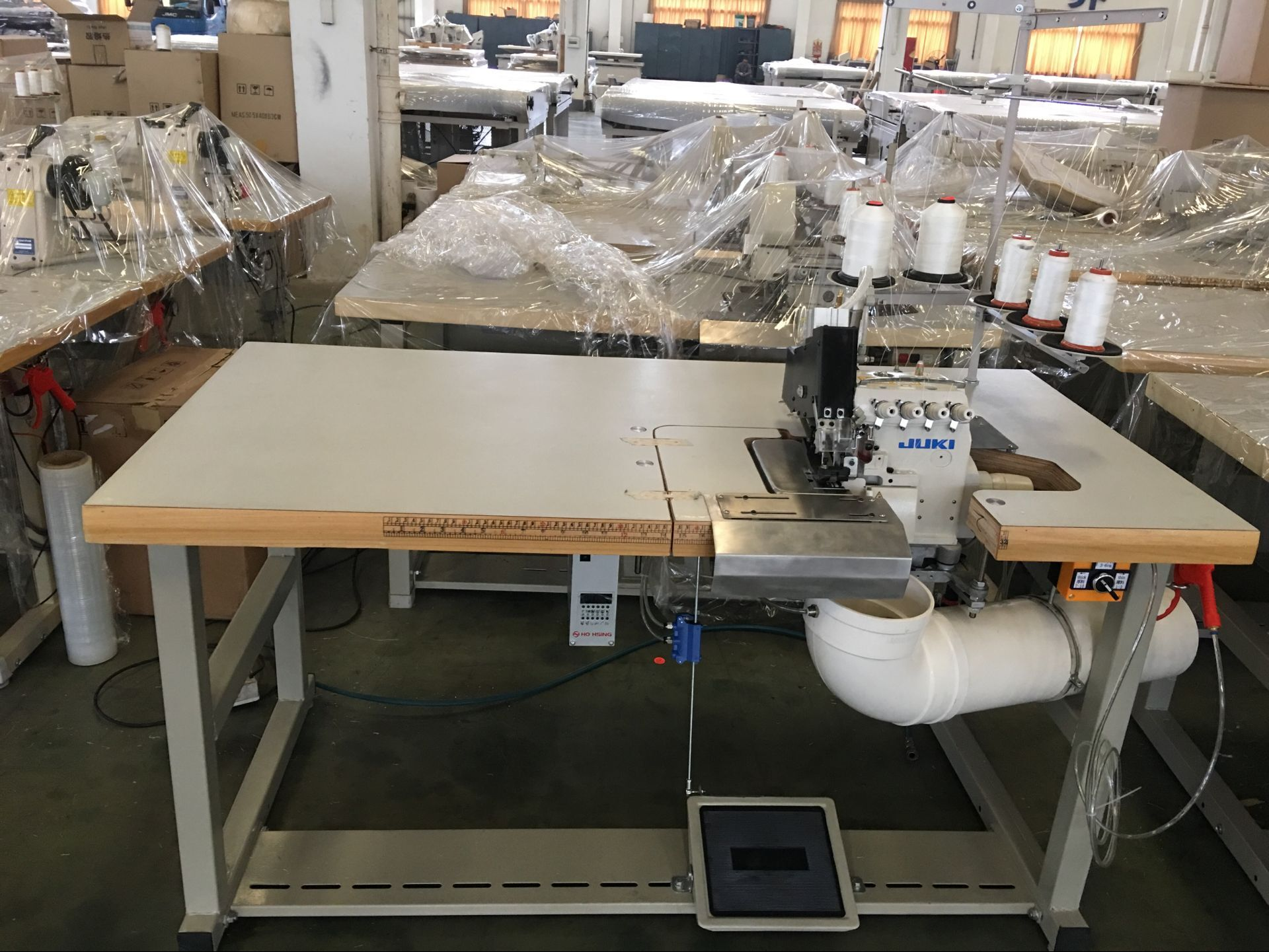 heavyduty sewing Double Sewing Heads Flanging Machine YUANTIAN Mattress Machines