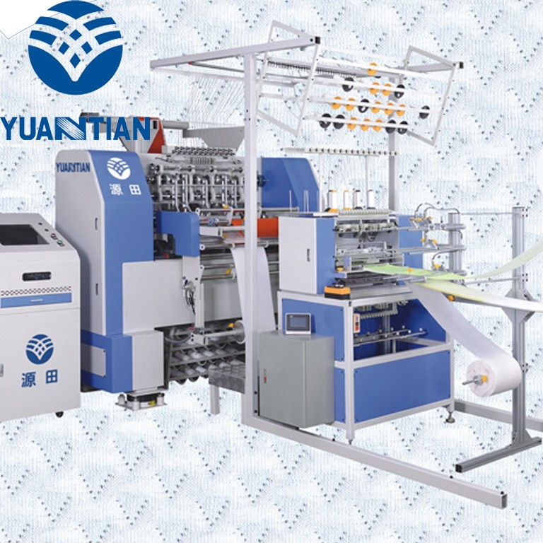 OEM quilting machine for mattress price multineedle four highspeed quilting machine for mattress