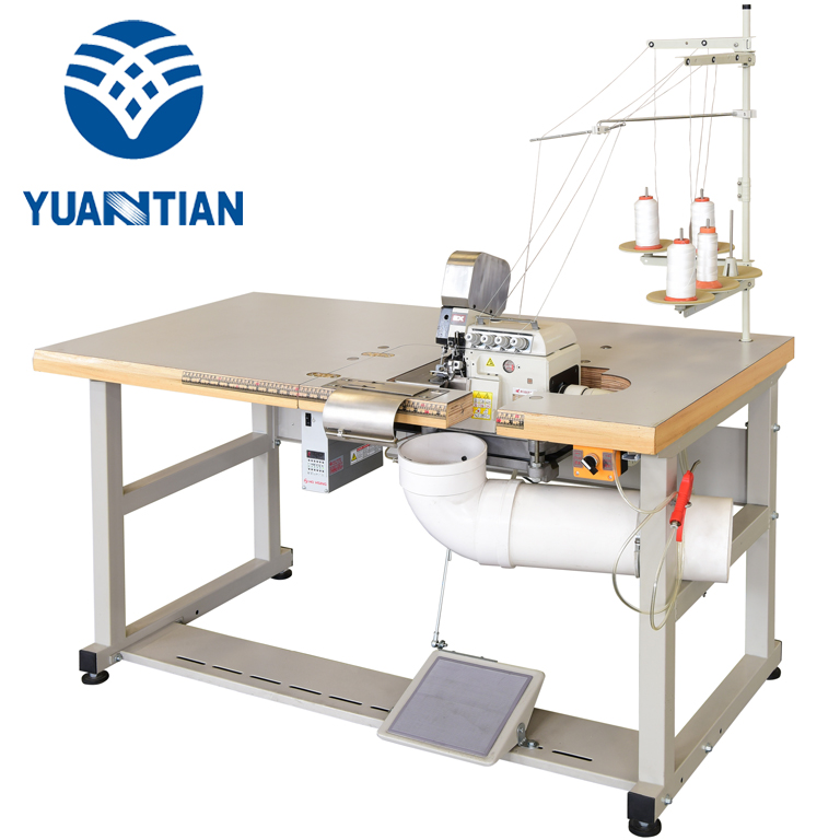 OEM Mattress Flanging Machine double sewing Double Sewing Heads Flanging Machine