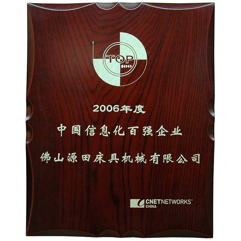 Top 100 Informatization Enterprisees of China