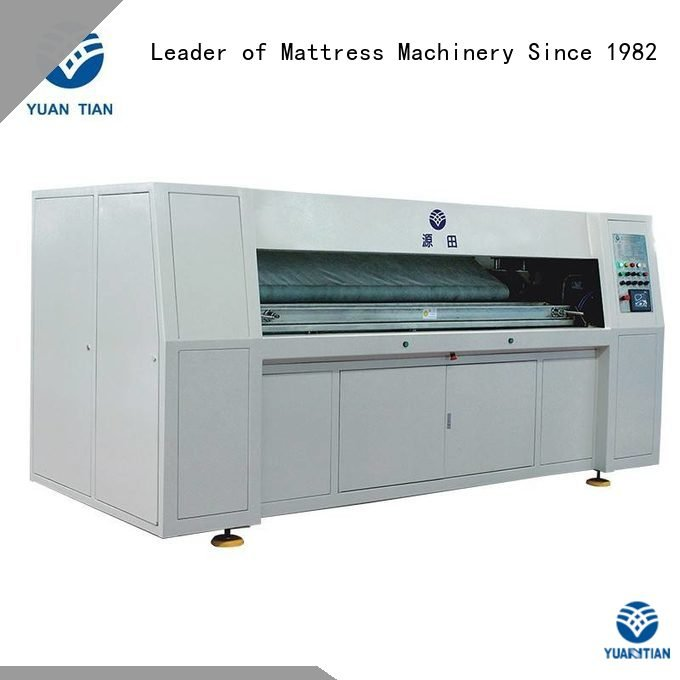 pocket Pocket Spring Assembling Machine YUANTIAN Mattress Machines Automatic Pocket Spring Assembling Machine