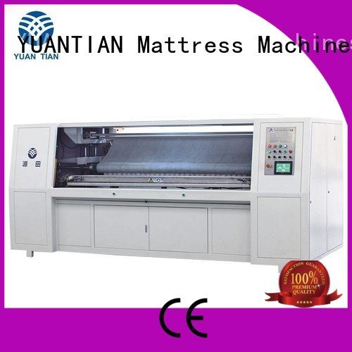 automatic assembling YUANTIAN Mattress Machines Automatic Pocket Spring Assembling Machine