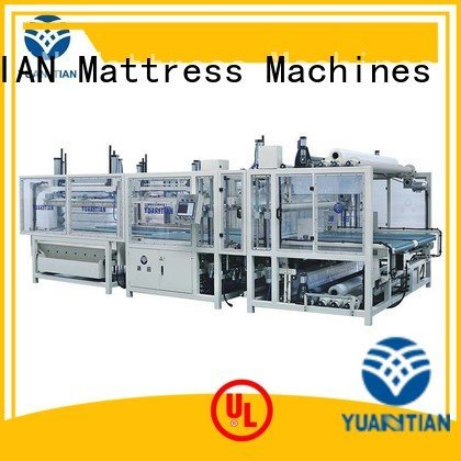 YUANTIAN Mattress Machines foam mattress making machine straightening border machine spring