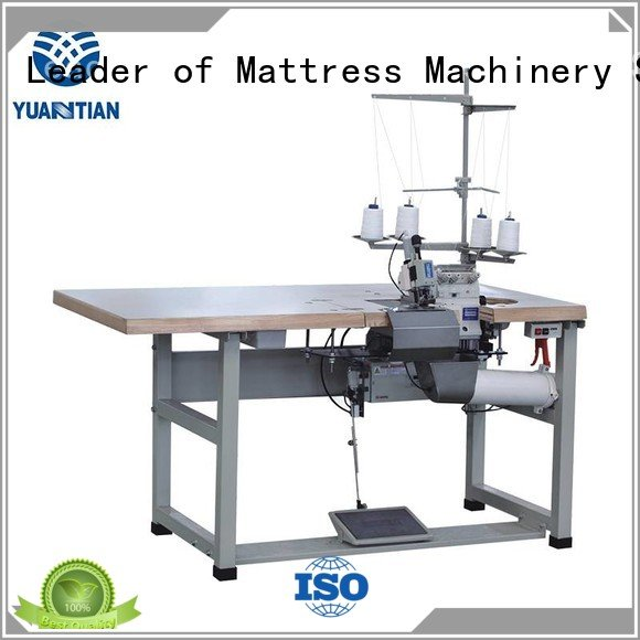Hot Double Sewing Heads Flanging Machine heavyduty Mattress Flanging Machine sewing YUANTIAN Mattress Machines