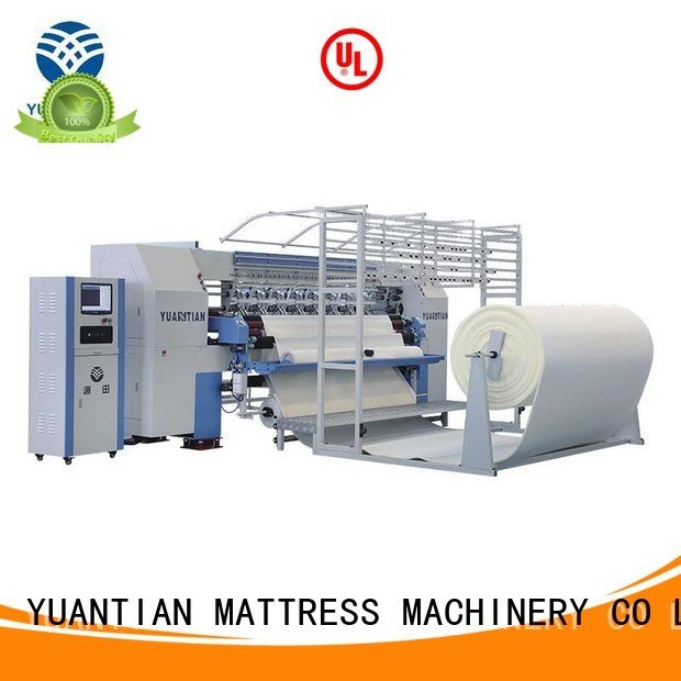 YUANTIAN Mattress Machines Brand double quilting machine for mattress price single machine