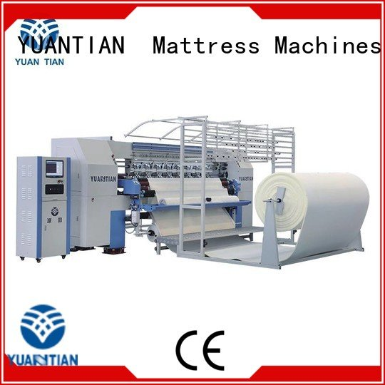 dzhf1g border YUANTIAN Mattress Machines quilting machine for mattress price