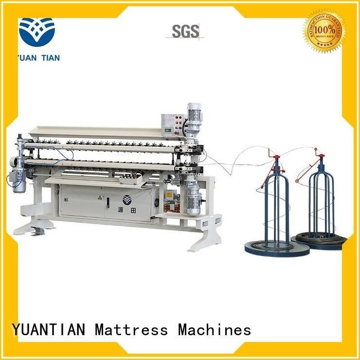 bonnell spring unit machine machine spring YUANTIAN Mattress Machines Brand