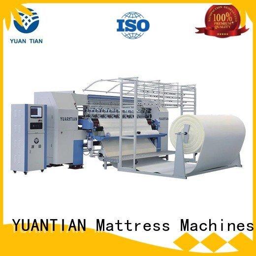 quilting machine for mattress price heads highspeed four machine YUANTIAN Mattress Machines