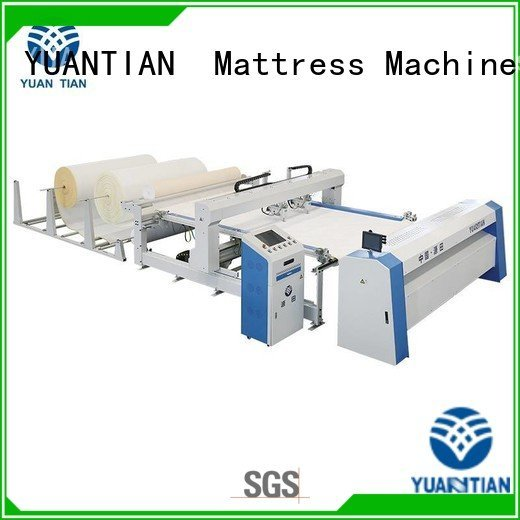 quilting machine for mattress price four side OEM quilting machine for mattress YUANTIAN Mattress Machines