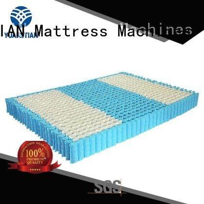 Custom mattress spring unit bottom top with YUANTIAN Mattress Machines