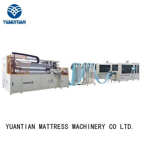 Hot spring coiling machine machine line pocketspring YUANTIAN Mattress Machines Brand