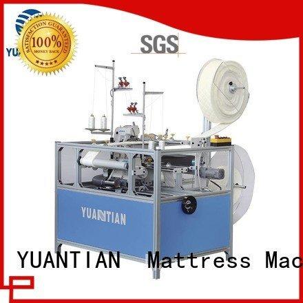 mattress double sewing YUANTIAN Mattress Machines Mattress Flanging Machine
