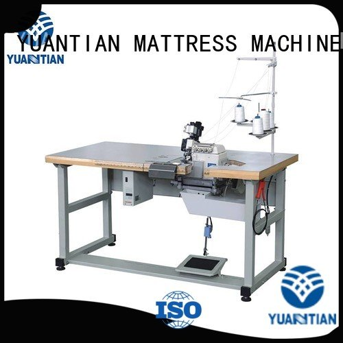 Hot Double Sewing Heads Flanging Machine multifunction Mattress Flanging Machine flanging YUANTIAN Mattress Machines