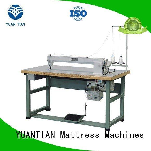 YUANTIAN Mattress Machines arm longarm Mattress Sewing Machine label autimatic