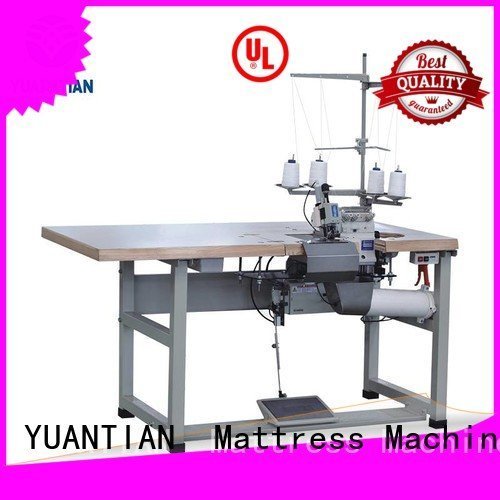 Double Sewing Heads Flanging Machine ds5 heads OEM Mattress Flanging Machine YUANTIAN Mattress Machines