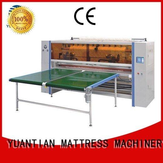 YUANTIAN Mattress Machines Brand panel mattress cutting Mattress Cutting Machine