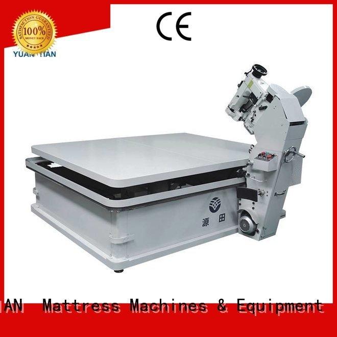 YUANTIAN Mattress Machines binding mattress tape edge machine table machine