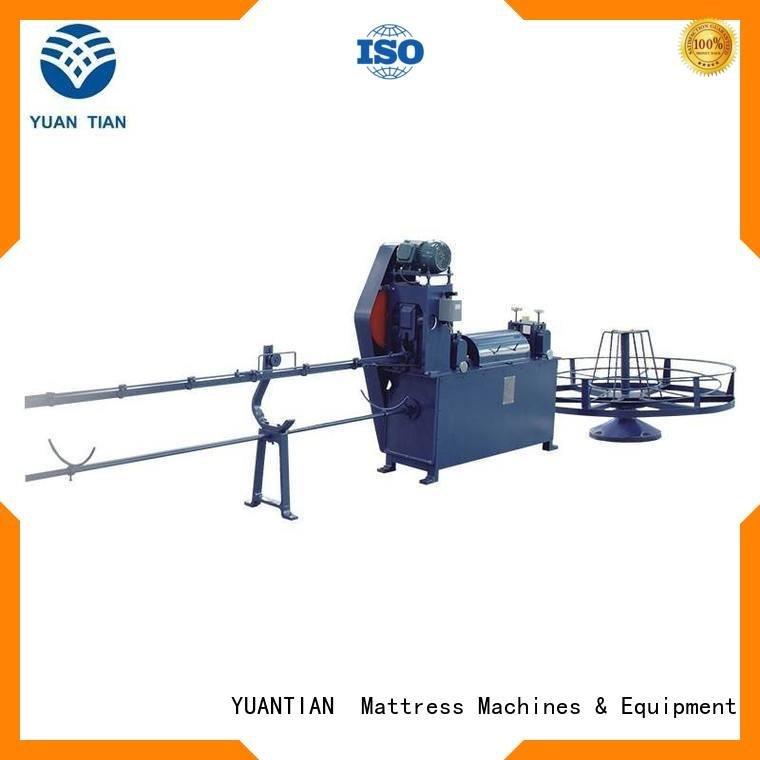YUANTIAN Mattress Machines Brand zx1 poket foam mattress making machine cc1 straightening