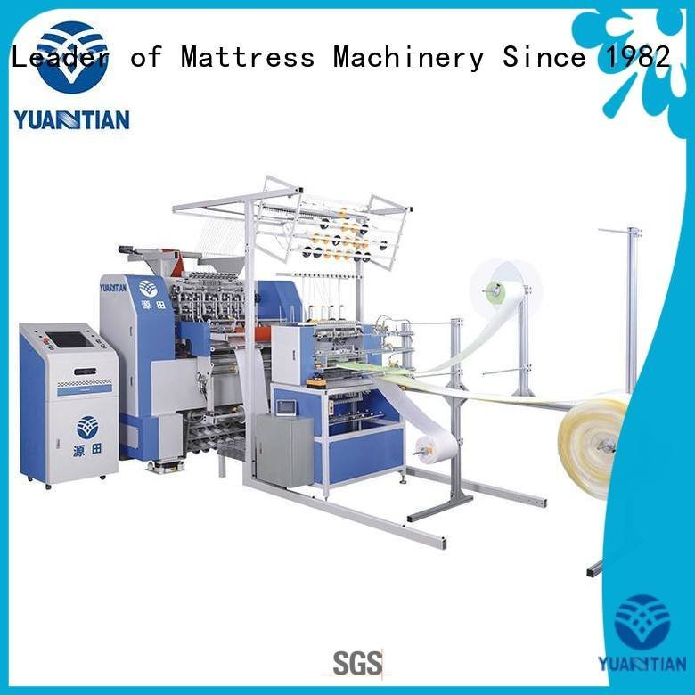 quilting machine for mattress price stitching singleneedle quilting machine for mattress YUANTIAN Mattress Machines Brand