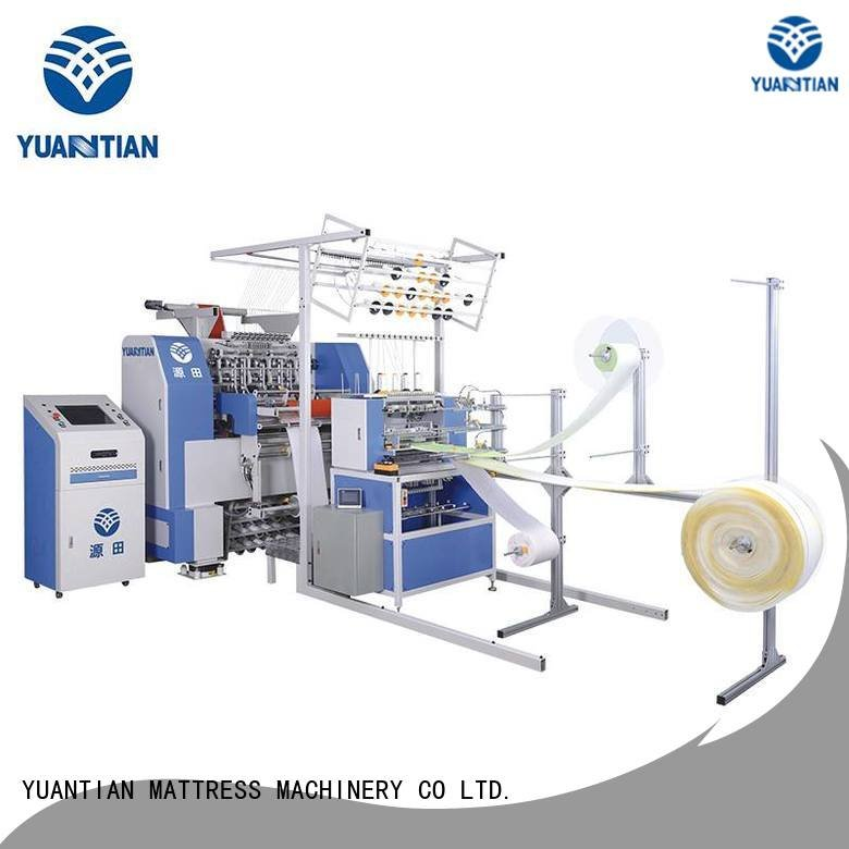 Hot quilting machine for mattress price multineedle singleneedle dzhf1g YUANTIAN Mattress Machines Brand