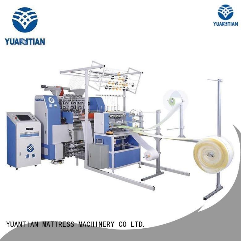 Hot quilting machine for mattress price multineedle singleneedle dzhf1g YUANTIAN Mattress Machines Brand