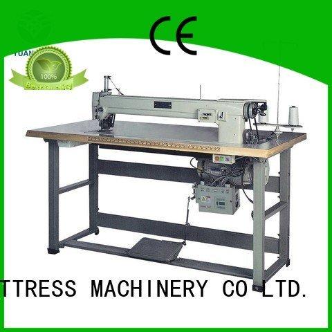 label sewing Mattress Sewing Machine arm YUANTIAN Mattress Machines Brand company