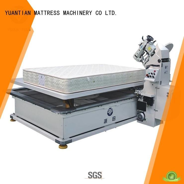 mattress tape edge machine machine table mattress tape edge machine YUANTIAN Mattress Machines Warranty