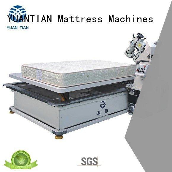 YUANTIAN Mattress Machines wpg2000 wb3a mattress tape edge machine top table