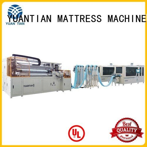pocket line Automatic Pocket Spring Machine YUANTIAN Mattress Machines
