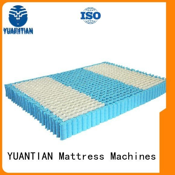 YUANTIAN Mattress Machines Brand spring nonwoven bottom mattress spring unit