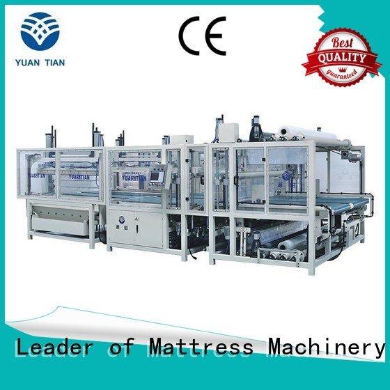 foam mattress making machine unit straightening pneumatic YUANTIAN Mattress Machines