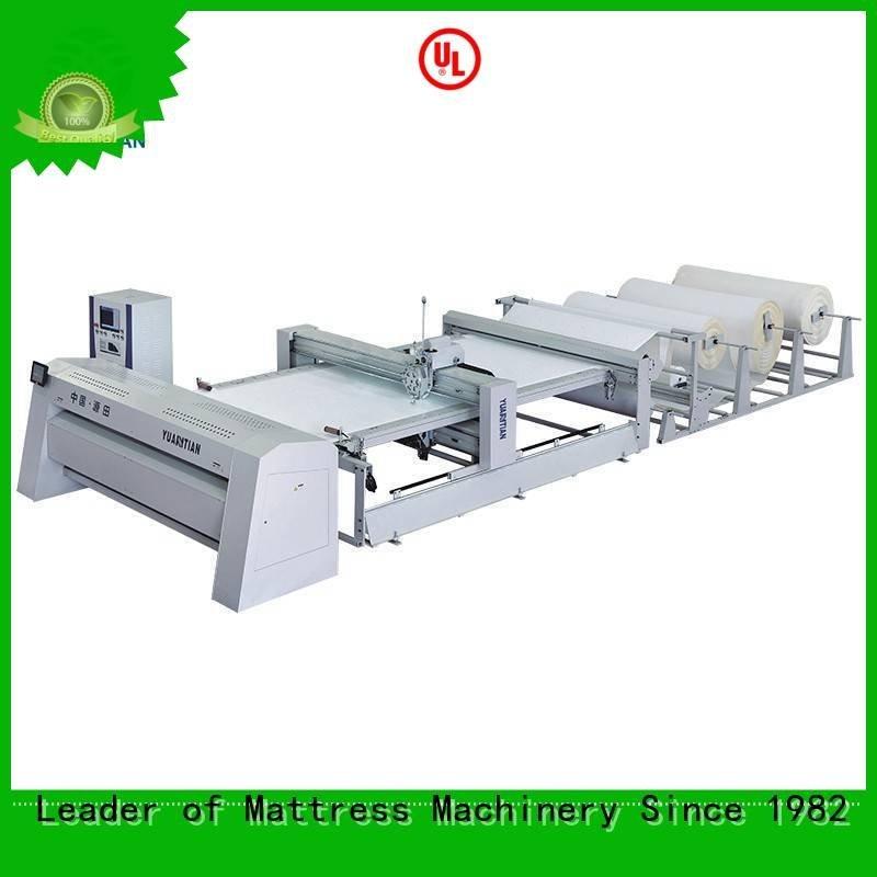 highspeed quilting lockstitch YUANTIAN Mattress Machines quilting machine for mattress price