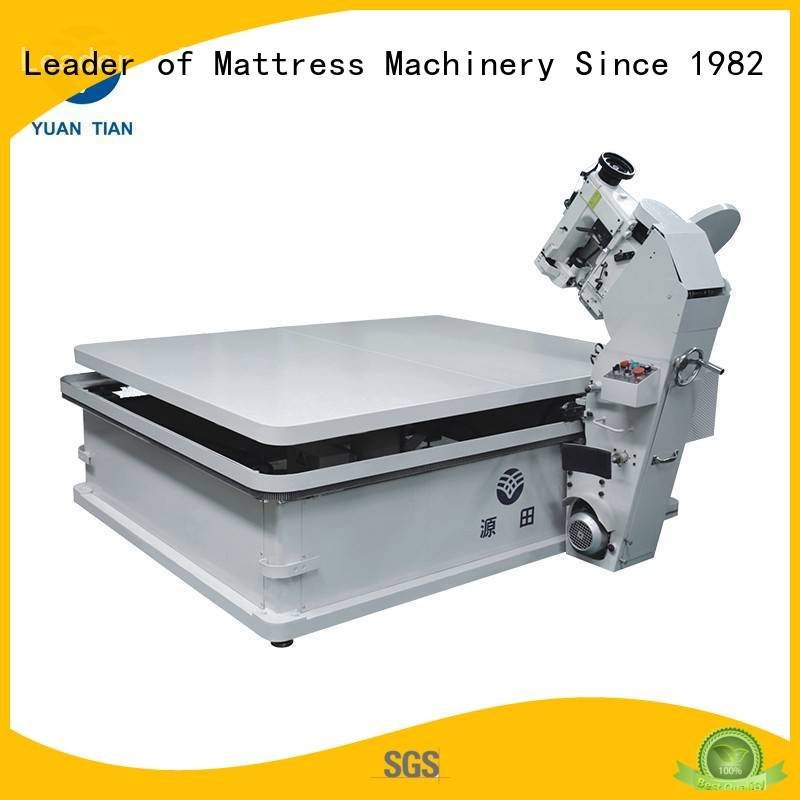 YUANTIAN Mattress Machines Brand machine table top mattress tape edge machine