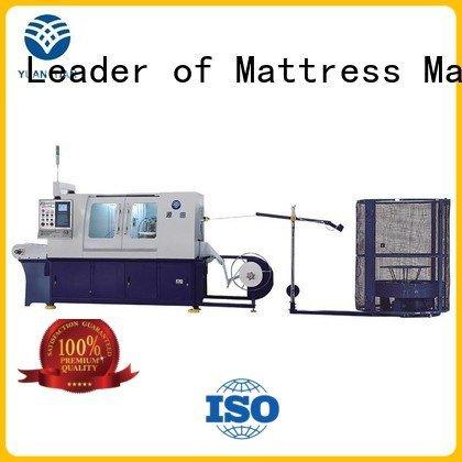 Hot Automatic Pocket Spring Machine automatic assembling high YUANTIAN Mattress Machines Brand