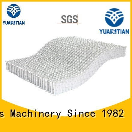Hot mattress spring unit spring pocket with YUANTIAN Mattress Machines Brand