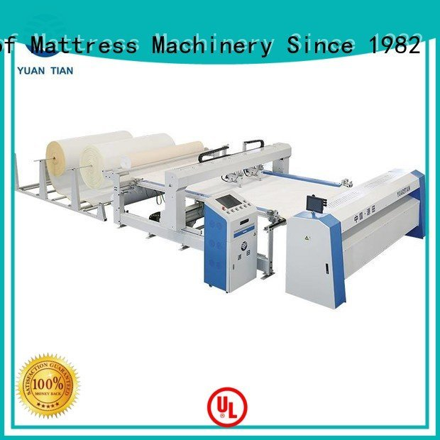 YUANTIAN Mattress Machines quilting machine for mattress price singleneedle lockstitch quilting highspeed