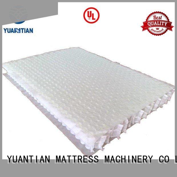YUANTIAN Mattress Machines Brand pocket unit top mattress spring unit