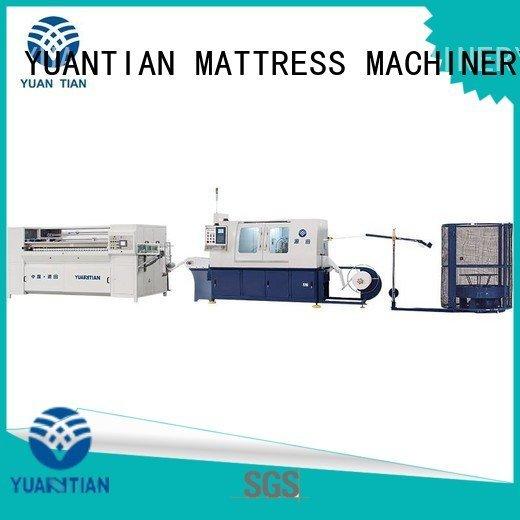 pocketspring machine assembling line YUANTIAN Mattress Machines Automatic Pocket Spring Machine