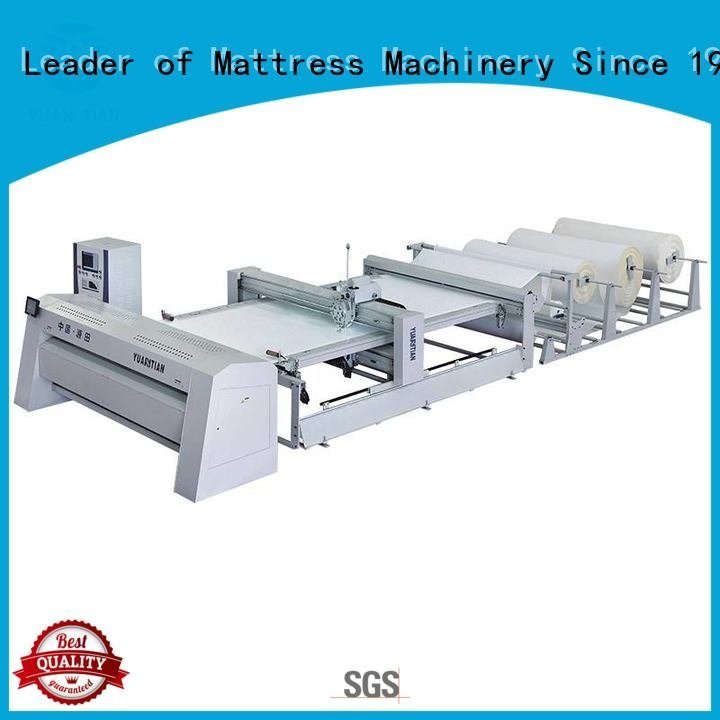 quilting machine for mattress price multineedle border stitching YUANTIAN Mattress Machines