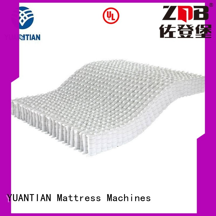 mattress spring unit top bottom mattress spring unit YUANTIAN Mattress Machines Brand
