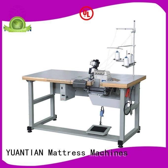 double heads YUANTIAN Mattress Machines Mattress Flanging Machine