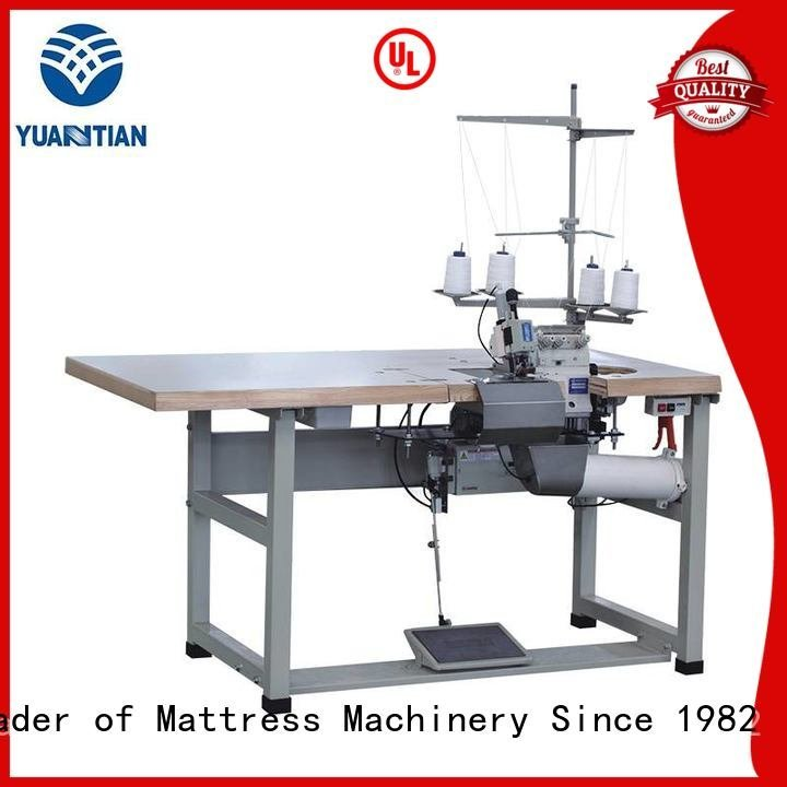 double Quality YUANTIAN Mattress Machines Brand Double Sewing Heads Flanging Machine mattress
