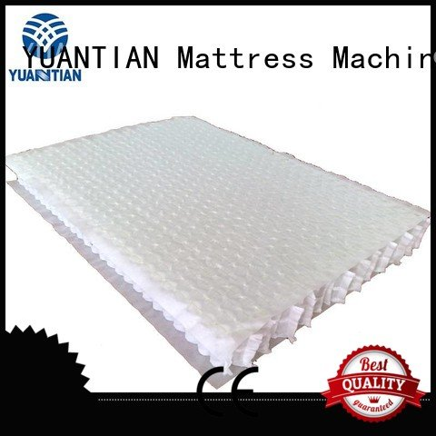 top nested with mattress spring unit YUANTIAN Mattress Machines