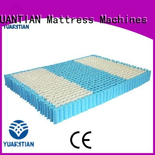 YUANTIAN Mattress Machines Brand nonwoven spring bottom mattress spring unit
