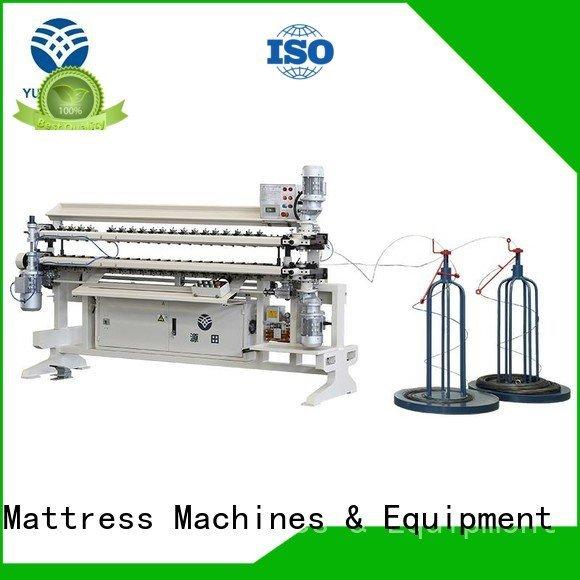 semiauto Bonnell Spring Assembly  Machine assembling YUANTIAN Mattress Machines