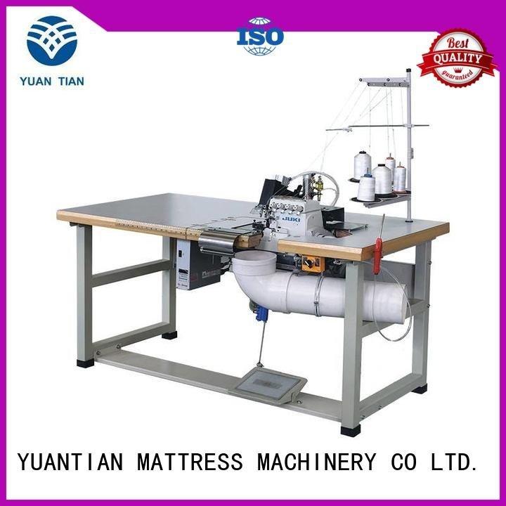 Double Sewing Heads Flanging Machine double heavyduty Mattress Flanging Machine YUANTIAN Mattress Machines Warranty