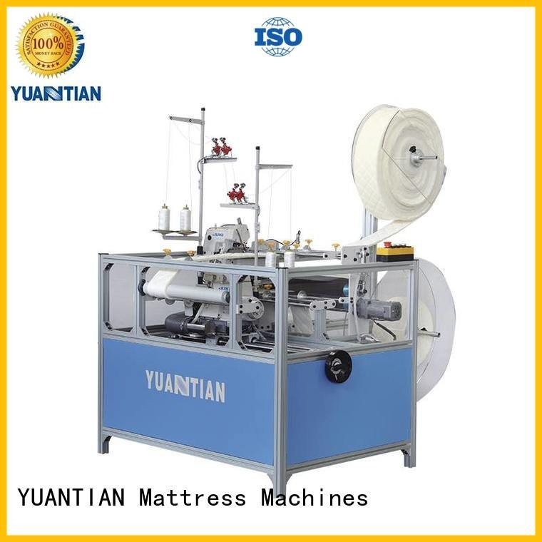 Double Sewing Heads Flanging Machine ds5b sewing Mattress Flanging Machine YUANTIAN Mattress Machines Brand